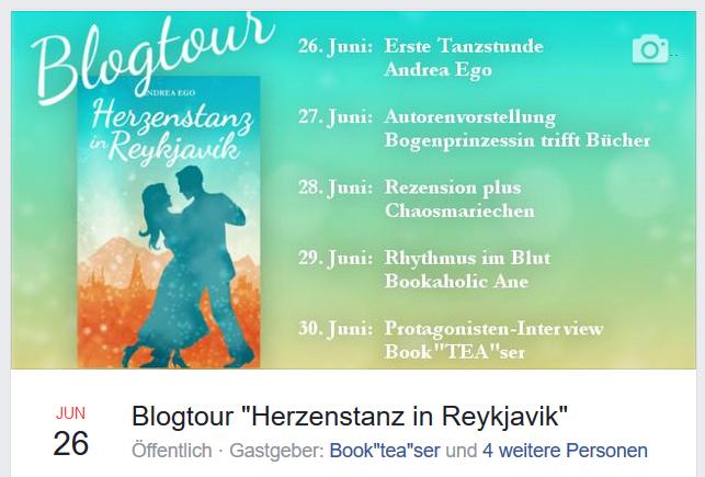 Blogtour Veranstaltung